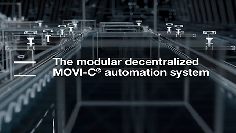 Quick and easy startup, independent of the bus system selected, with maximum flexibility. We meet the highest demands with our decentralized MOVI-C® modular automation system